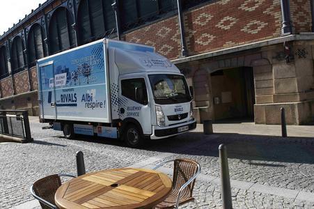 Alternative Antriebe bilden einen Schwerpunkt des Messeauftritts von Renault Trucks bei der IAA 2012
