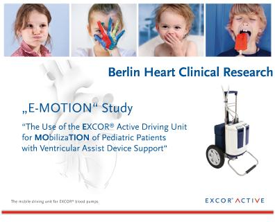 Berlin Heart Enrolls First Patients in Clinical Study to Investigate Innovative Mobilization Option for Children Waiting for a Heart Transplantation