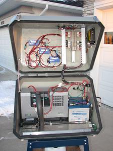 Power Pod System mit EFOY Pro Brennstoffzelle, offen