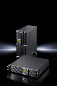 Die PMC 12 compact von Rittal ist eine platzsparende, kostengünstige USV mit hohem Wirkungsgrad