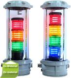 New developed LED signal tower for hazardous areas
