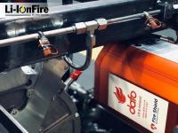 Dafo Vehicle introducing Li-IonFire™ increasing the safety of electric and hybrid electric vehicle operations