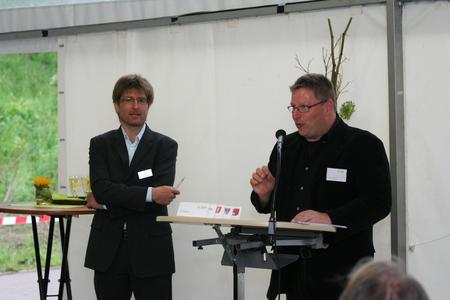 Feierliche Einweihung des Solarparks Radelstetten am 02.06.2010