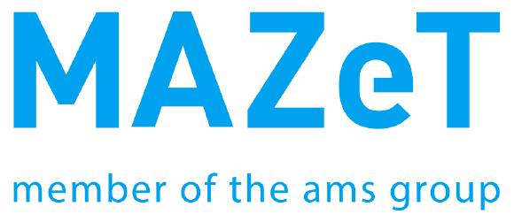 New logo of MAZeT with ams subline (Copyright: MAZeT GmbH)