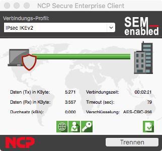 NCP VPN Clients für macOS Catalina