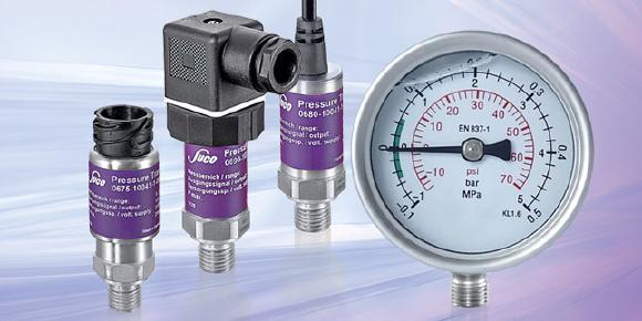Compound-Drucktransmitter der Firma SUCO eignen sich für die Messung von positiven und negativen Druckbereichen über den Nulldruck
