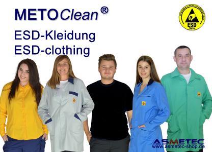 METOCLEAN ESD-Kleidung