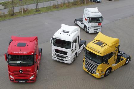 TÜV SÜD: Mercedes Benz New Actros gewinnt den Euro Truck Test