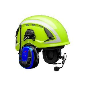 Das Headset verbindet den Gehörschutz mit zahlreichen Kommunikationsmöglichkeiten. Foto: 3M