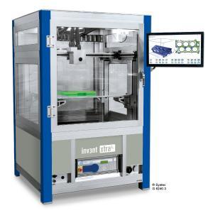 Der FFF/FDM-3D-Drucker inv3nt xtraL eignet sich ideal für die additive Fertigung großer industrieller Bauteile, vom Prototypen bis zum Kleinserienteil (Foto: Systec GmbH)