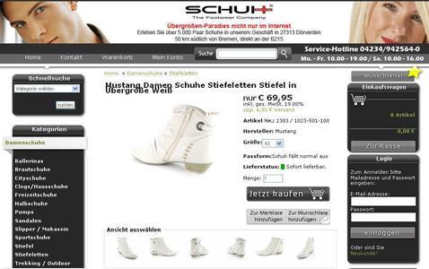 Mehr als die Hälfte aller Internetnutzer suchen Schuhe und Mode