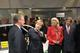 Federal Chancellor Dr. Angela Merkel speaking to Dr. Juergen M. Geissinger (left), Maria-Elisabeth Schaeffler and Georg F. W. Schaeffler