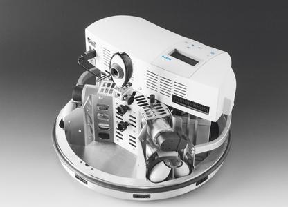 Der Robotino enthält nicht nur jede Menge Technik, er macht sie auch begreifbar