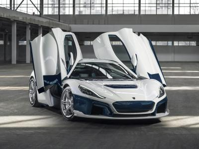 C_Two hypercar by Rimac Automobili in Galactic White (Image: Rimac Automobili)