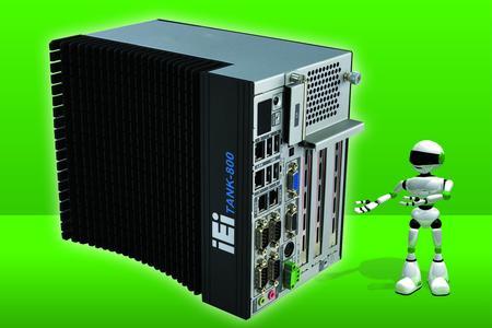 Kraftvoller Schaltschrank PC