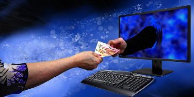 Im Internet wird immer mehr gekauft...