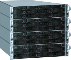Skalierbare NAS Cluster mit EUROstor ES-7000vNAS