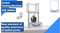 Innovation: First Junker test stand with controlled transverse stroke