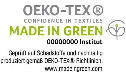 Das neue Made in Green by OEKO-TEX® Label für unbedenkliche und nachhaltig produzierte Textilien löst den bisherigen OEKO-TEX® Standard 100plus sowie das spanische Made in Green by Aitex Label ab