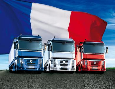 Der Magnum Tricolore ist eine der attraktiven Sondermodell-Aktionen von Renault Trucks Deutschland im Jahr 2012
