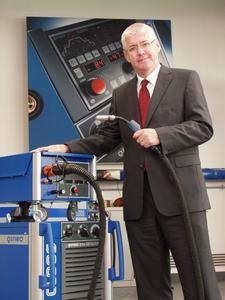 Dr.-Ing. Robert Buchmann, Geschäftsführer Vertrieb, Marketing und Entwicklung der Carl Cloos Schweißtechnik GmbH