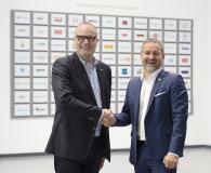 Andreas Ridder, Nordwest-Vorstandsvorsitzender (l.) und Thomas Jäger, CEO JF Group.