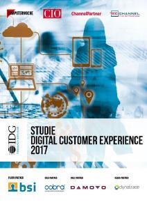 Laut DCX Studie 2017 erkennen immer mehr Unternehmen die Notwendigkeit einer digitalen Kundenbeziehung und investieren deshalb vermehrt in CRM-Systeme