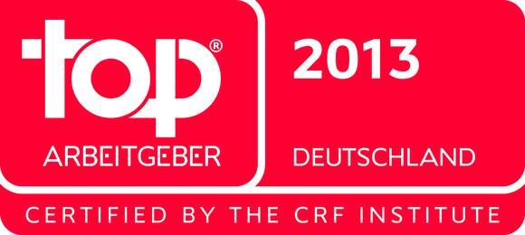 Logo Top Arbeitgeber Deutschland 2013
