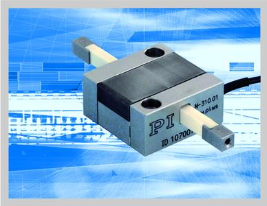 High-resolution linear drive for travel ranges of up to 20 mm and holding forces of up to 10 N
