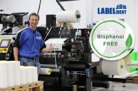 Labelident stanzt bisphenolfreie Etiketten auf Rolle