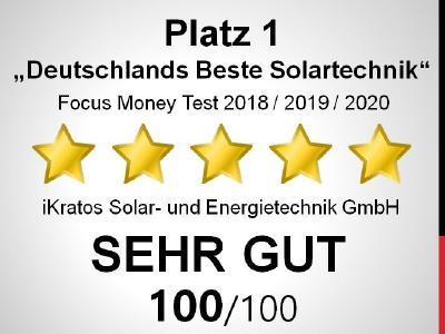 Auszeichnung Deutschlands Beste iKratos