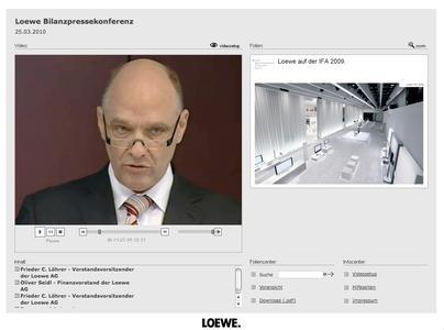 Live-Webcast Technology by TV1.EU