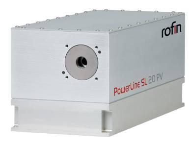 New laser beam sources for photovoltaic applications: PowerLine SL PV series from ROFIN