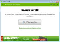 Doctor Web bringt Beta-Version von Dr.Web CureIt! 7.0