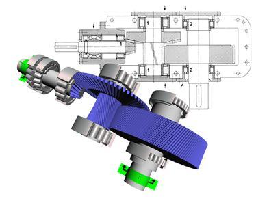 Wichtig bei der Auslegung kritischer Lagerstellen in komplexen Getriebesystemen: Dank BEARINX kann Schaeffler schon in der Konstruktionsphase Aussagen zum Lagerverhalten unter spezifischen Betriebsbedingungen treffen / Bilder: Schaeffler