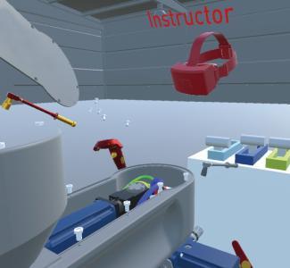 """Neben Informationen bietet die """"Serviceinsel"""" auch einen Einblick in die virtuelle Welt.  Bildquelle: TEMA Marketing"""