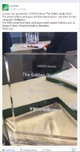 """15 Herstellerkataloge werden von CADENAS mit dem """"Golden Catalog Seal"""" ausgezeichnet"""
