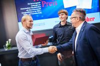 """Peter Huber Prize"" awarded at the ACHEMA 2018"