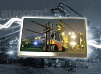 High-quality 6.5-inch (16.5 cm) WVGA Rugged+ display for use in harsh environments