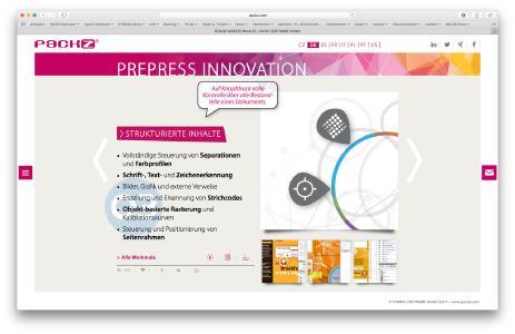 HYBRID Software veröffentlicht State-Of-The-Art PACKZ Website