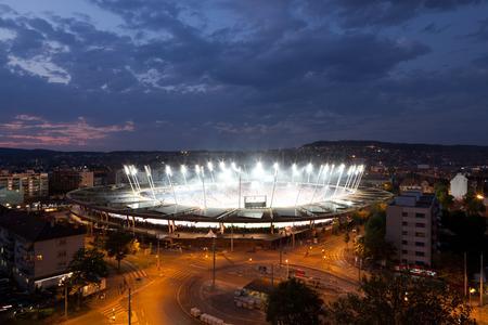 Workshop Information Rights Management von SECUDE im Stadion Letzigrund, Zürich – Quelle: Stadion Letzigrund, Zürich