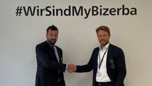 from the left: Tomaso Petrini, CEO & shareholder Italianpack, and Andreas W. Kraut, CEO & shareholder Bizerba SE & Co. KG