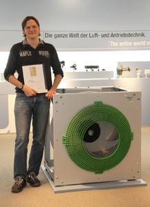 Jens Müller freut sich über die Auszeichnung für das FlowGrid.