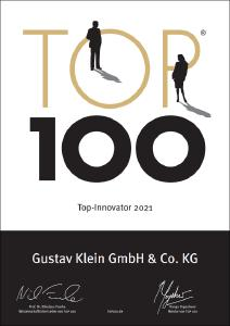 Zertifikat TOP100 2021