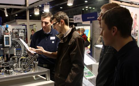 Großes Interesse an den technischen Berufen - Quelle: C³ CHEMNIT...