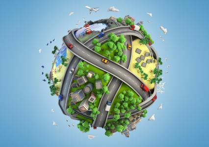 diedruckerei.de-Kunden glichen 7.900 t CO2 aus, das entspricht dem Ausstoß eines PKW auf dem weltweiten Straßennetz. Copyright: Onlineprinters GmbH – diedruckerei.de