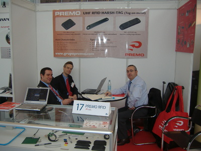 PREMO RFID shows its newest components for RFID applications in Germany