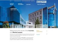Homepage of the new corporate website www.tampoprint.de