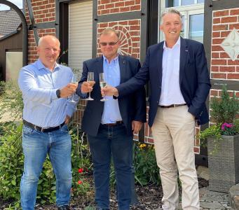v.l.n.r.: Stefan Niehusmann, Peter Springer, Oliver Spölgen