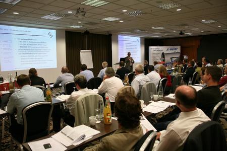 Nahezu 60 Personen besuchten in Berlin den Workshop über neue rechtliche Rahmenbedingungen für BHKW-Anlagen.